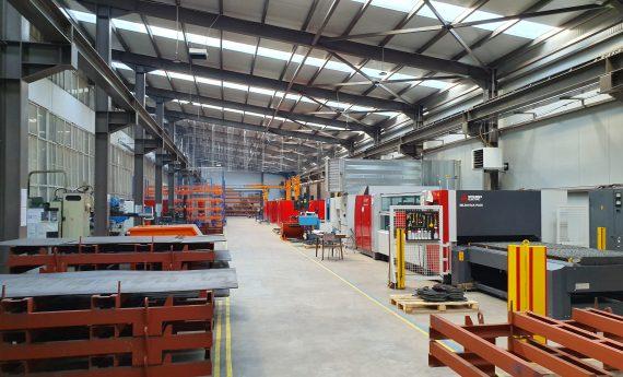Lazarov Metaltech-warehouse